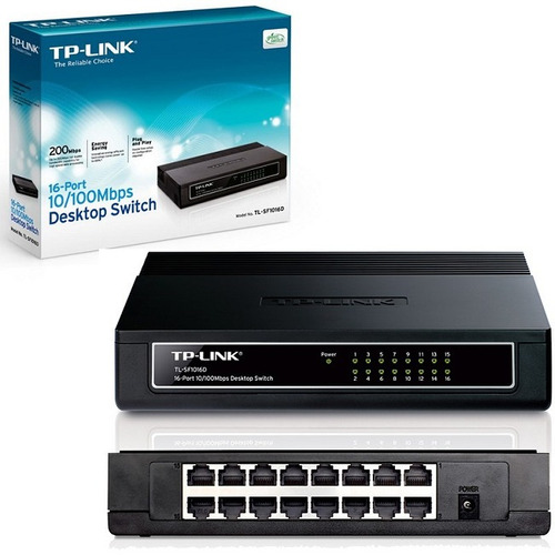 switch tp-link tl-sf1016d 16pts 10/100 icb technologies