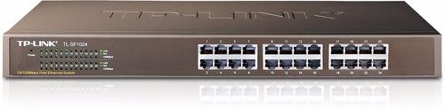 switch tp-link tl-sf1024 24 puertos 10/100