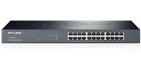 switch tp link tl sf1024 24 puertos 10/100 mbps rackeable
