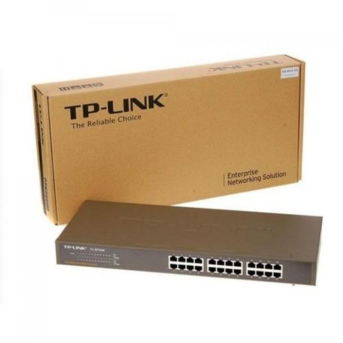 switch tp-link tl-sf1024 /24 puertos rj45 10/100 mbps rack