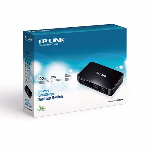 switch tp-link tl-sf1024m - 16 puertos lan 10/100 en peru
