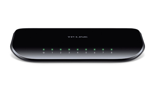 switch tp-link tl-sg1008d 8 puertos rj45 gigabit / ecológica