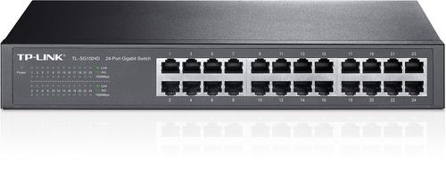 switch tp-link tl-sg1024d 24 puertos gigabit 10/100/1000 rac