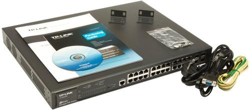 switch tp-link tl-sg3424p de 24 puertos poe gigabit admin l2