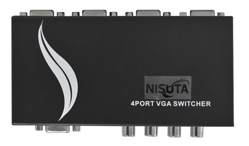 switch vga 4 puertos bocas manual pc monitor cable