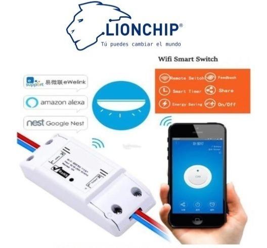 Switch Wifi Para Casa iPhone Samsung Arduino Raspberry Sonof