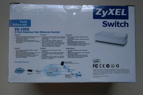 switch zyxel 5 puertos