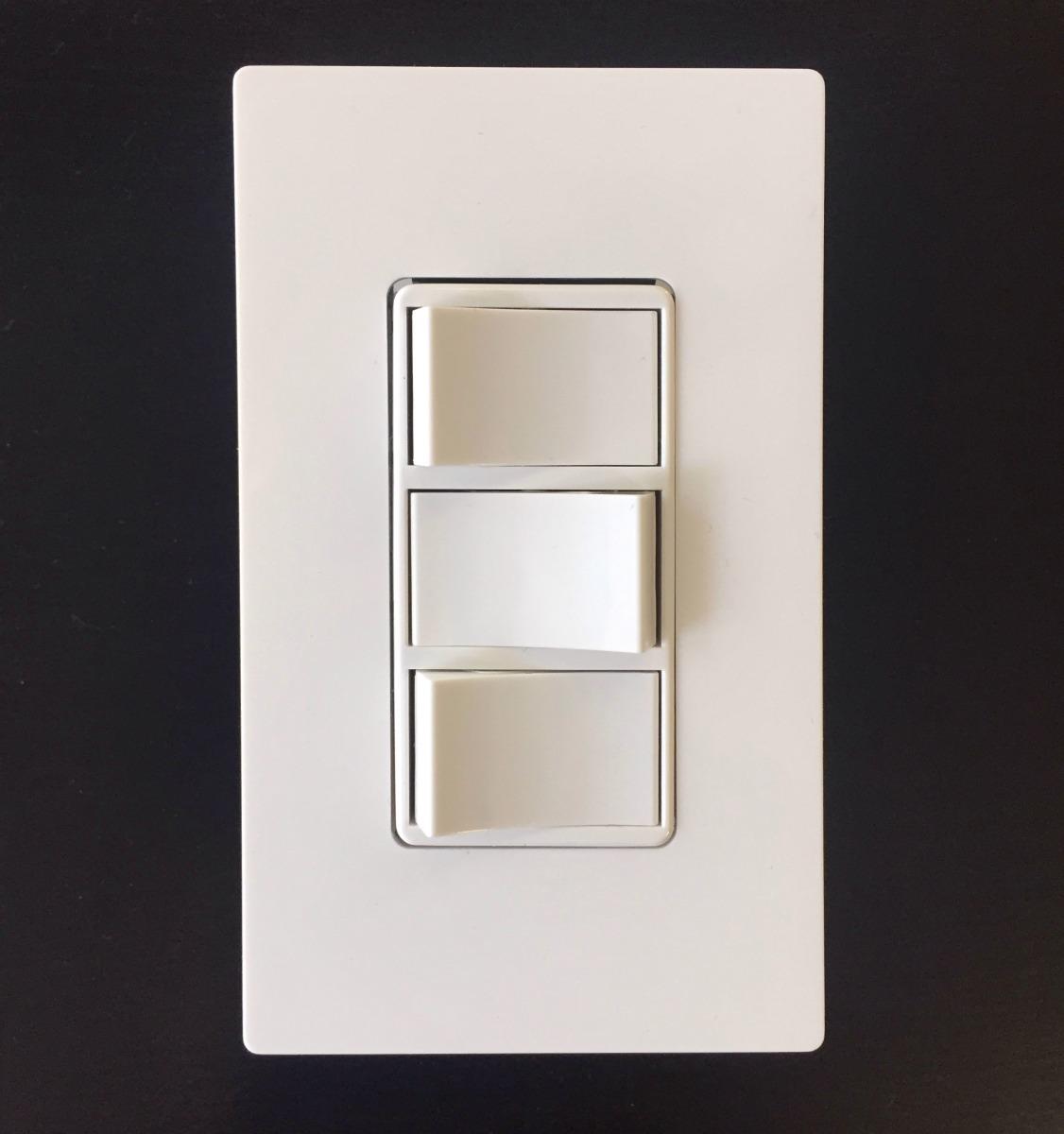 Switche Interruptor Triple 1755 Leviton Decora Tapa 80301 Bs 145 Light Switch Wiring Diagram Rocker Cargando Zoom