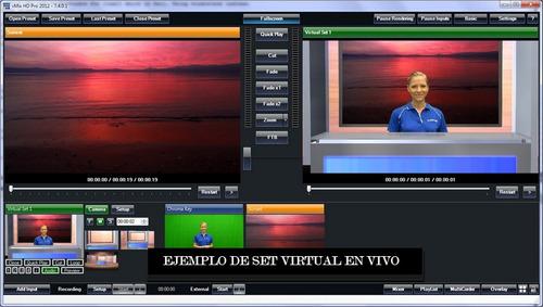 switcher de video o mezcladora profesional en tu pc