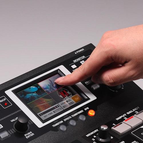 switcher de vídeo roland v4ex misturador e multivisualizador