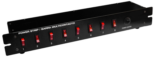 switchera con 8 entradas ideal para rack casa dj audio xaris