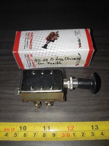 switchera de luz universal 2 pases hs-69