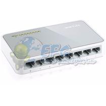 Switch 8 Puertos Tp-link Tl-sf1008d 10/100 Mbps
