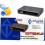 Switch Gigabit Advantek 8 Puertos 10/100/1000 Netpro Serie