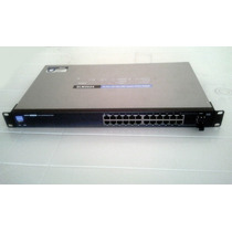 Switch Cisco Lynksys Slm2024 24 Puertos Gigabit Redes