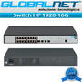 Switch Hp 1920-16g Jg923a 16ptos 10/100/1000 +4sfp Globalnet