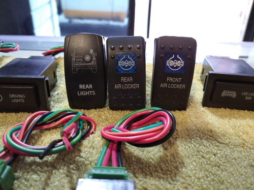 switches para vehiculos