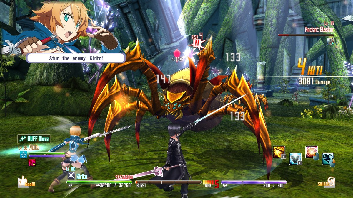 Sword Art Online Re: Hollow Fragment Gets PC Release Date