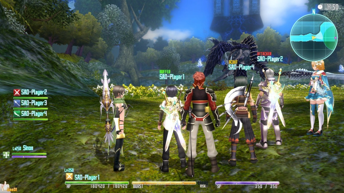 Resultado de imagen para SWORD ART ONLINE HOLLOW FRAGMENT gameplay