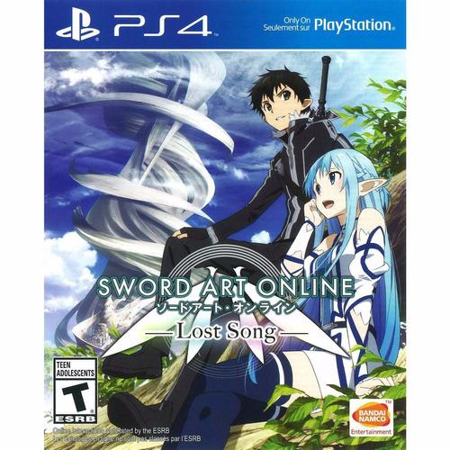 sword art online lost song ps4 nuevo y sellado fisico