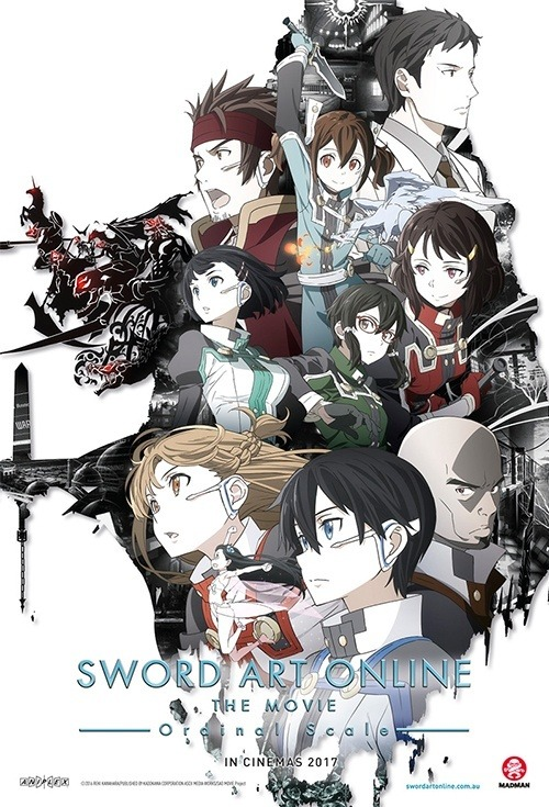 Sword Art Online Ordinal Scale Dvd
