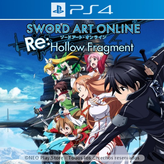Sword Art Online Re Hollow Fragment Juego Ps4 Rol Rpg 299 00