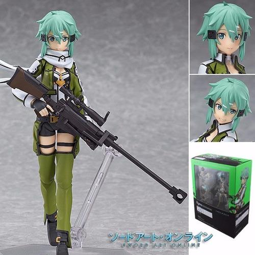 sword art online sinon 15cm action figure figma 241