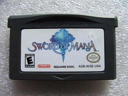 sword of mana rpg americano original! jogo conservado! raro!