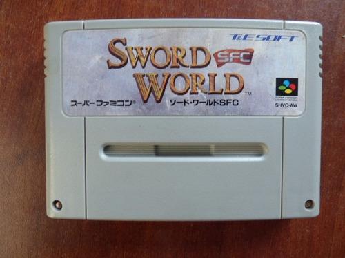 sword world super famicom zonagamz japon