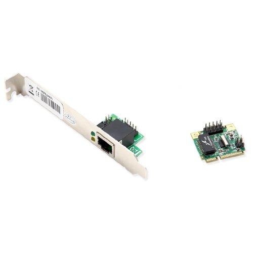 syba sdmpe24031 mini pcie gigabit ethernet card 1port