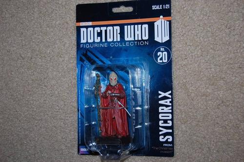 sycorax 20 doctor who bbc escala 1:21 eaglemoss