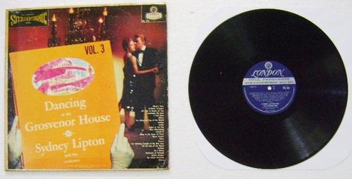 sydney lipton and his orchestra / dancing  1 disco  lp vinil