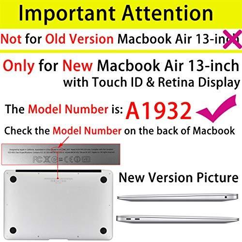 sykiila funda para macbook air 2018 de 13 pulgadas modelo a1