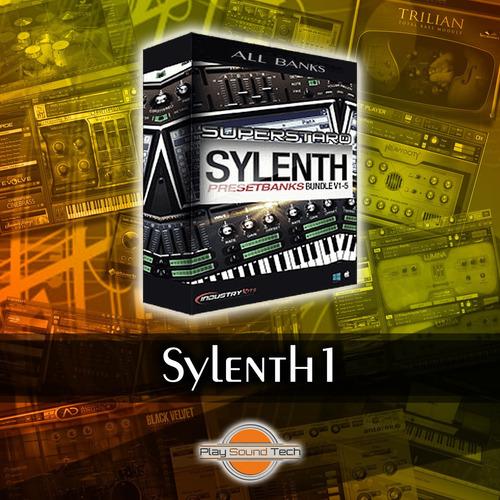 sylenth1 + todos los bancos | vst au | win mac | licencia