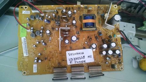 sylvania ld370558m2 fuente de poder