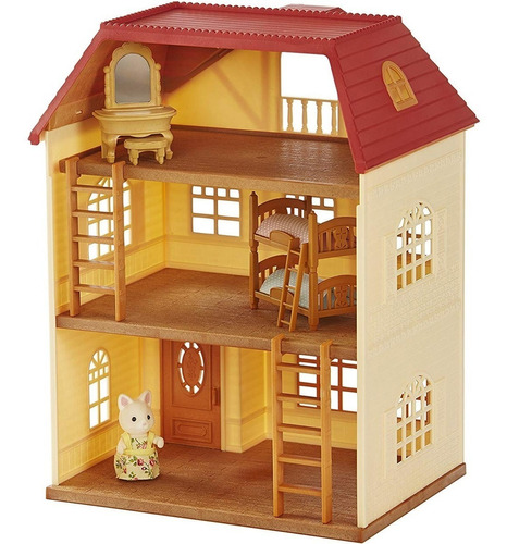 sylvanian casa de 3 pisos sylvanian families original oferta