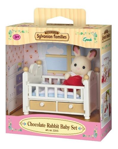 sylvanian cuna bebe conejo 5017sy families conjunto edu