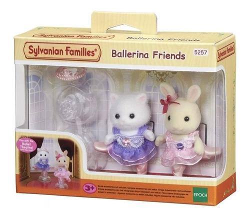 sylvanian families amigas bailarinas set x2 muñecas