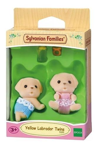 sylvanian families bebe gemelos perros labrador
