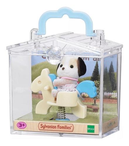 sylvanian families bebe osito conejito perrito + accesorios