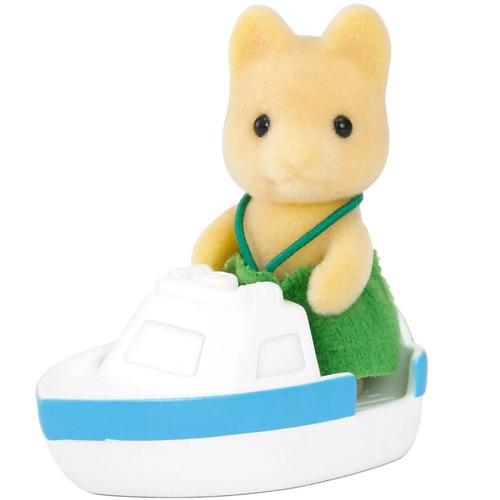 sylvanian families bebé perro con bote