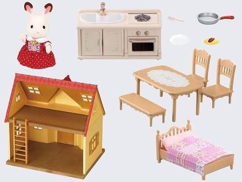 sylvanian families casa de campo juguete infantil ®
