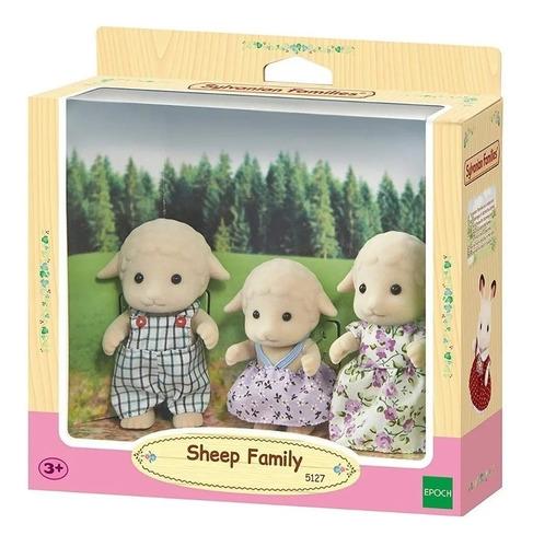 sylvanian families conjunto família de ovelhas 5127 epoch