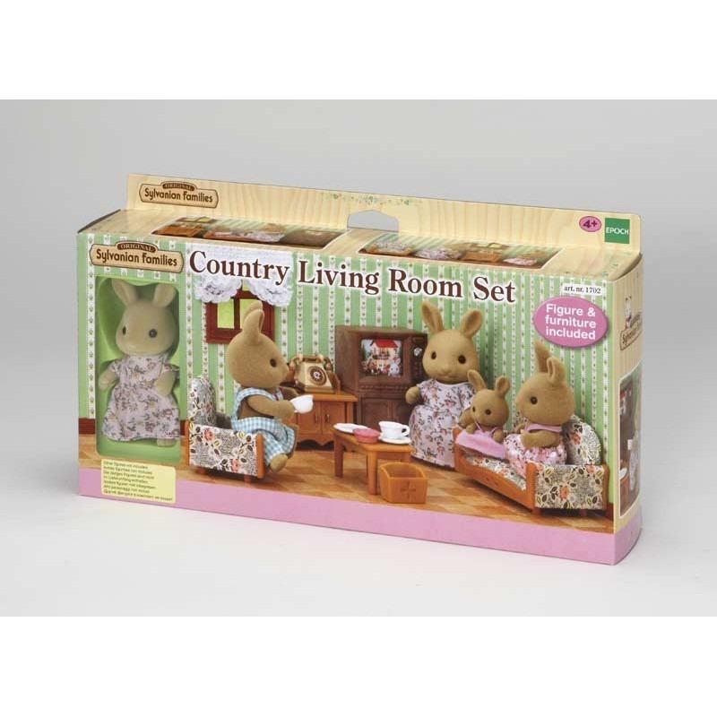Sylvanian Families Country Living Room Set 5163  Yamanca . Cargando Zoom.