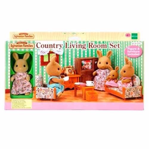 Sylvanian Families Country Living Room Set Intek