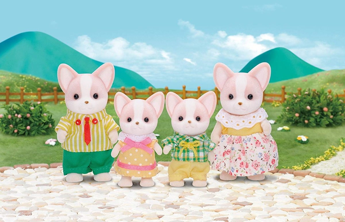 Sylvanian Families Chihuahua Famille