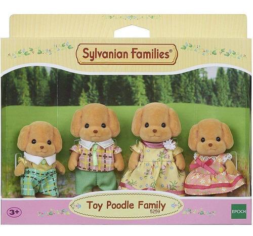 sylvanian families família dos poodles 5259 - epoch