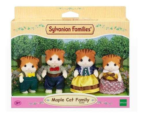sylvanian families familia gatos de maple 5290