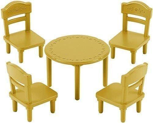sylvanian families juego de mesa con sillas juego accesorios