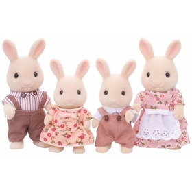 Sylvanian Families Milk Rabbit Set Conejos 4108